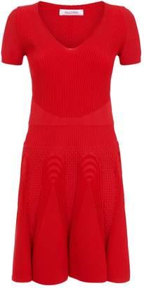 Valentino Ribbed Knit Dress