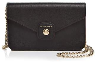 Longchamp Le Pliage Heritage Medlum Wallet on a Chain Crossbody