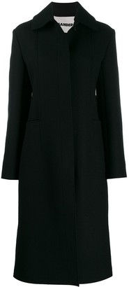 Jil Sander long fitted coat