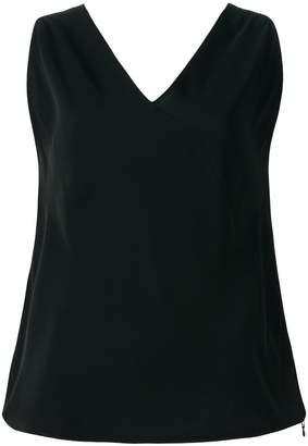 MM6 MAISON MARGIELA sleeveless V-neck top