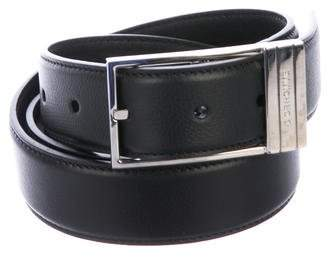 Christian Dior Pebbled Leather Belt