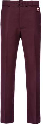 Prada bootcut tailored trousers