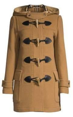 Burberry Merton Wool-Blend Duffle Coat