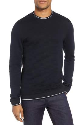 Ted Baker Magiics Slim Fit Quilted Sweatshirt