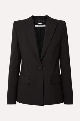 Givenchy Wool-crepe Blazer - Black