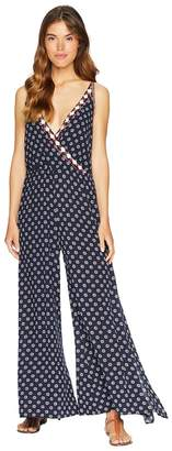 1 STATE 1.STATE Spaghetti Strap Jumpsuit w/ Embroidery Women's Jumpsuit & Rompers One Piece