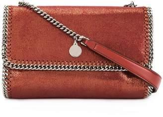 Stella McCartney Falabella Shiny Dotted chamois crossbody bag