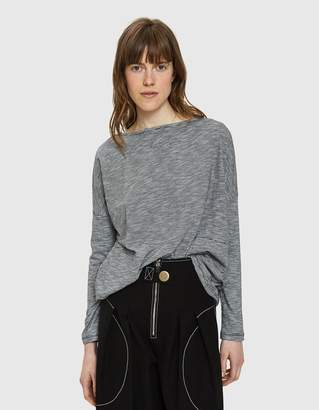 Which We Want Vana Striped Tee in Black