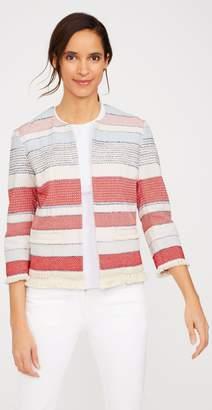 J.Mclaughlin Davis Jacket in Stripe