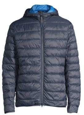 Barbour Nautical Trawl Quilt Hooded Puffer Jacket