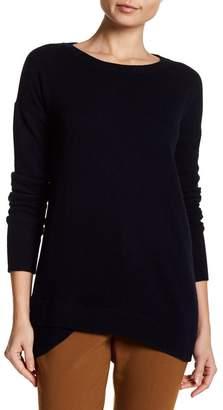 Sofia Cashmere Cashmere Split Rib Hem Sweater