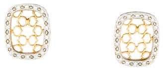 Charriol 18K Diamond Earrings