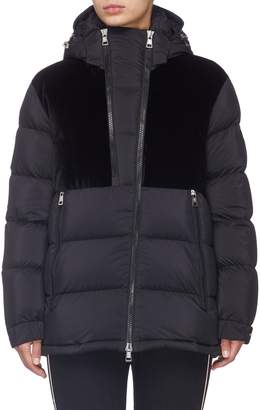 6cc74c88ff83 Moncler Hooded Down Jacket - ShopStyle