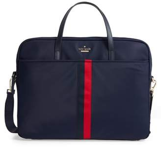 Kate Spade Varsity Stripe 15-Inch Laptop Bag