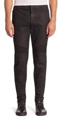 Paneled Biker Jeans $1,295 thestylecure.com