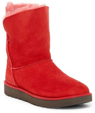 UGG Australia Classic Cuff Genuine Shearling Lined Short Boot $180 thestylecure.com