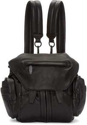 Alexander Wang Black Mini Marti Backpack $850 thestylecure.com