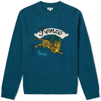 Kenzo Jumping Tiger Crew Knit