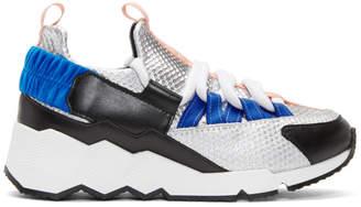 Pierre Hardy Silver Trek Comet Sneakers