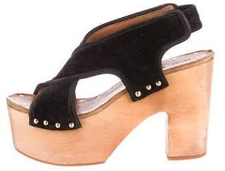 Celine Strappy Platform Sandals