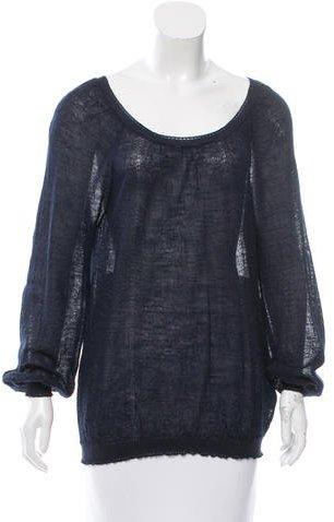 Nina RicciNina Ricci Long Sleeve Crew Neck Sweater