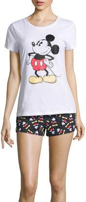 DISNEY Disney Shorts Pajama Set-Juniors $17.99 thestylecure.com