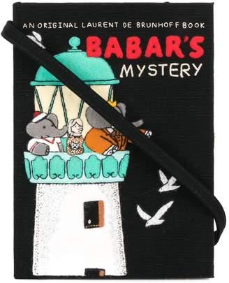 Olympia Le-Tan Babar's Mistery book clutch