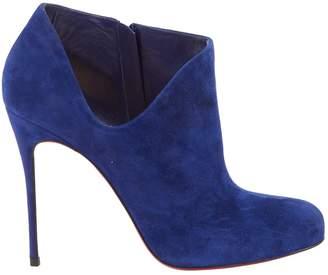1d4df7150965 Christian Louboutin Blue Boots For Women - ShopStyle UK