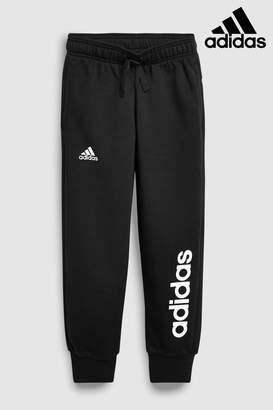 Next Girls adidas Black Logo Jogger