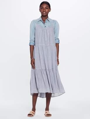 Xirena XiRENA Tierney Lido Cotton Stripe Shirting Dress - Seaside