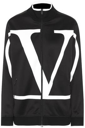 Valentino VLOGO technical track jacket