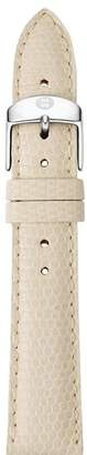 Michele Vanilla Lizard Strap, 18mm