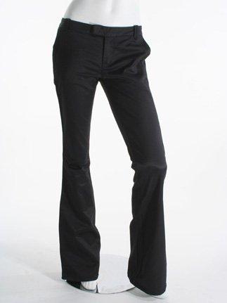 7 For All Mankind Tuxedo Trouser, Black