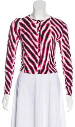 Diane von Furstenberg Ibiza Button-Up Cardigan