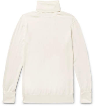 Thom Sweeney Slim-Fit Merino Wool Rollneck Sweater