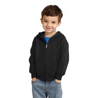 Yiahojia Winter Clothes Unisex Baby Fleece Hooded Jacket Outerwear Zipper Winter Coat