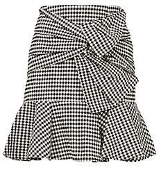 Veronica Beard Gingham Picnic Box Mini Skirt $395 thestylecure.com