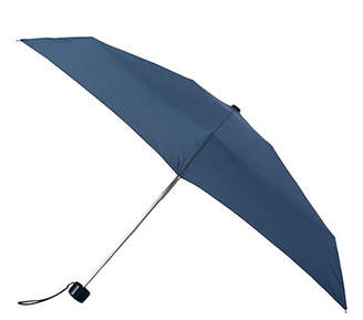 totes Thin Plain Navy Mini Umbrella (5 Section)