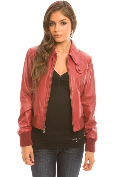 Online Exclusive - Liza Leather Jacket