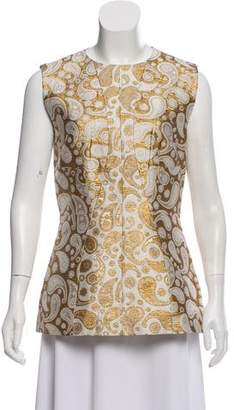 Stella McCartney Brocade Paisley Top