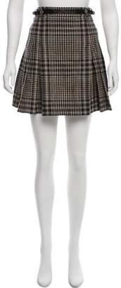 The Kooples Plaid Mini Skirt