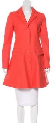 Philosophy di Alberta Ferretti Virgin Wool Knee-Length Coat