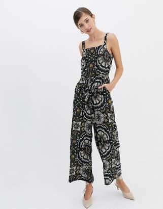 1096ba3c4ab Closet London Closet Multi Floral Wide Leg Jumpsuit