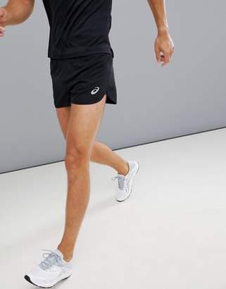 Asics Running Split Shorts In Black