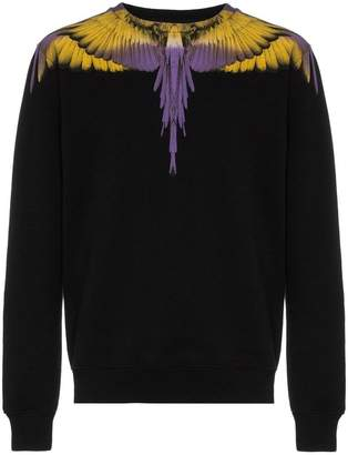 Marcelo Burlon County of Milan Wings print cotton sweatshirt