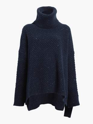 ADAM by Adam Lippes Marled Cashmere Turtleneck Sweater