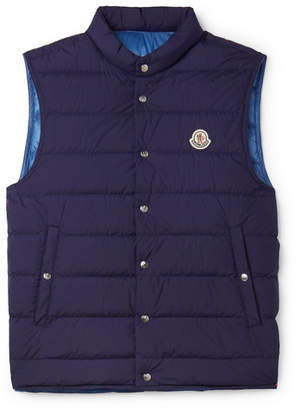 Moncler Febe Slim-Fit Quilted Shell Down Gilet
