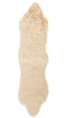 Treasure & Bond Curly Faux Fur Rug