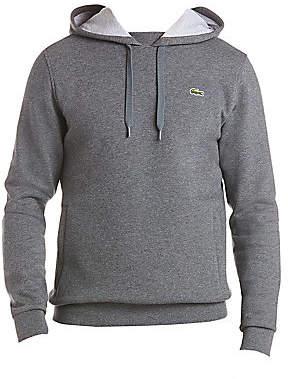 Lacoste Men's Brushed Fleece Pullover Hoodie