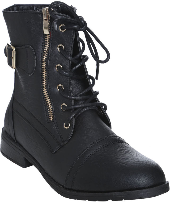 Wet Seal Short ZooLoo Hardware Boot